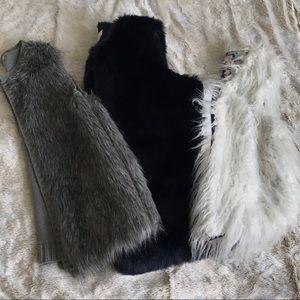 Bundle 3 fur jackets